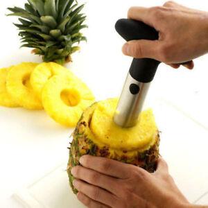 Ananas fruit pour Evider trancher Eplucher couper Cutter préparer inox cuisine facile Tool Kit