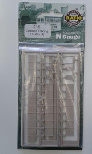 Gates N gauge Ratio 219 Free Post F1 Concrete Fencing