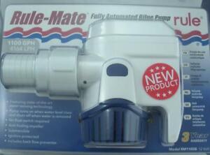 Rule 27SA Automatic Bilge Pump 1100 GPH 12 Volt