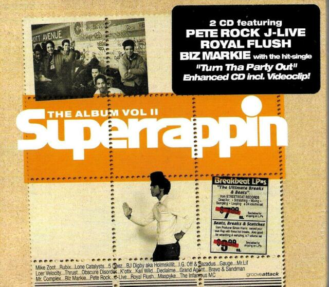 Super Rappin Vol.2 von Various Artists (2001)