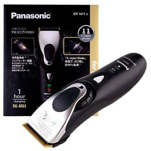 panasonic er1611 professional cord cordless hair clipper made in rh ebay com Panasonic Hair Styler Panasonic Meat Ginder