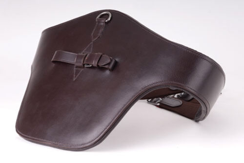 """54/"""" Blk or Brn Windsor Equestrian Leather Stud Guard Show Jumping Padded 44/"""""""