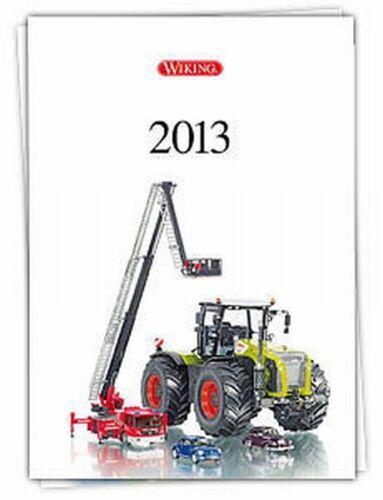 Wiking Auto Katalog Jahrgang 2013   28 Seiten unbenutzt NEU OVP