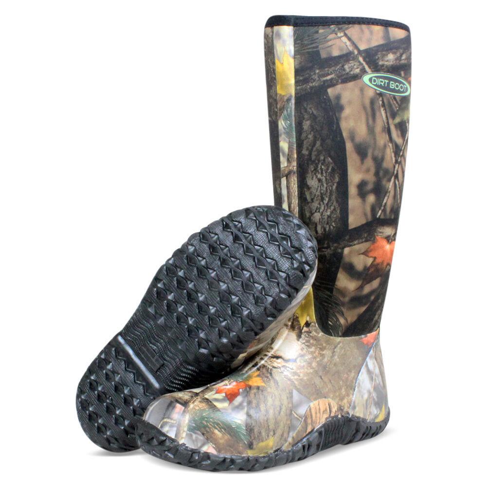 Dirt Boot® Neoprene Wellington Muck Camo Field Fishing Stiefel Wellies Camo Muck 9940e5