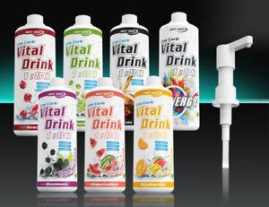 Best-Body-Nutrition-Low-Carb-Vital-Drink-Sirup-ohne-oder-mit-Dosierpumpe
