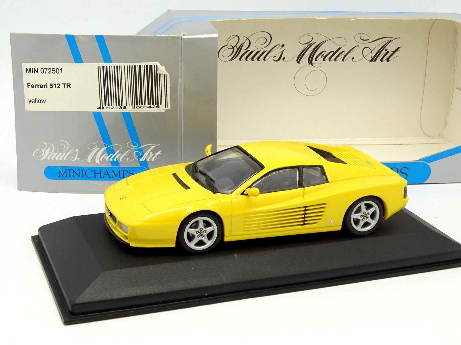 Minichamps 1 43 - Ferrari 512 TR Gialla