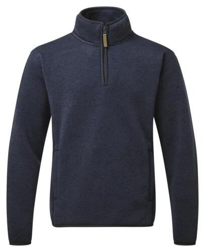 2XL Castello FORTEZZA 238 EASTON Navy in Pile-Foderato 1//4 Zip Felpa Taglia Small