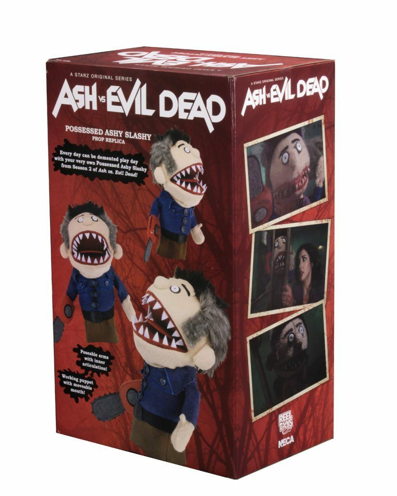 Ash Vs Vs Vs Evil Dead Possessed Ashy Slashy Puppet 15  Prop Replica NECA IN STOCK 3d0283