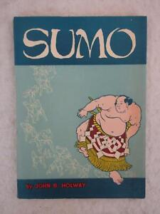 John-B-Holway-SUMO-1957-Tokyo-News-Service-Japan-First-Edition-Illustrated
