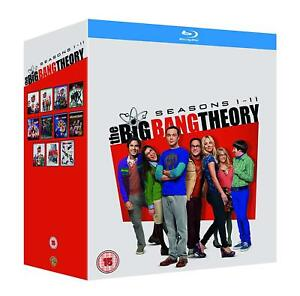The Big Bang Theory - Seasons 1-11 [Complete Series] (Blu-ray, 2018) *NEW*