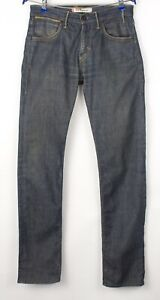 Levi's Strauss & Co Hommes 504 Droit Slim Jeans Extensible Taille W30 L34 BCZ648