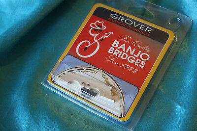 Grover 30B12 5-String 1//2-Inch Banjo Bridge
