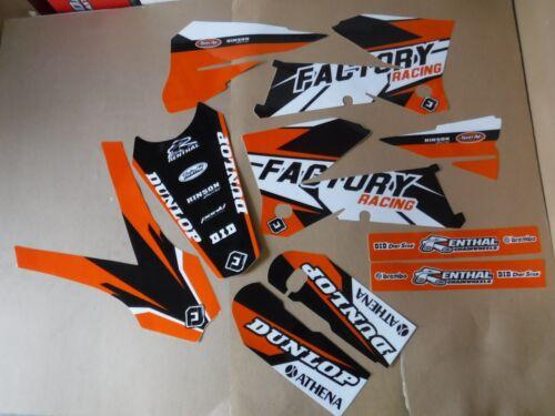 FLU PTS4 KTM GRAPHICS 2005 2006 SXF SX MXC /& 2005 2006 2007  EXC XCW XCWF  EXCF
