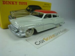 BUICK-ROADMASTER-DINKY-TOYS-ATLAS-WHITE-RED