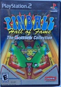 Details about Pinball Hall Of Fame: The Gottlieb Collection - Sony  PlayStation 2 PS2 Game