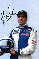 Marc Gene SIGNED F1 Minardi-Fondmetal Portrait , 2000 Grand Prix Season