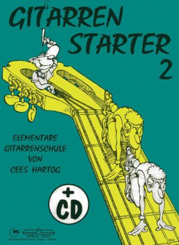 Gitarrenstarter 2 mit CD Hartog Gitarrenschule Lehrbuch