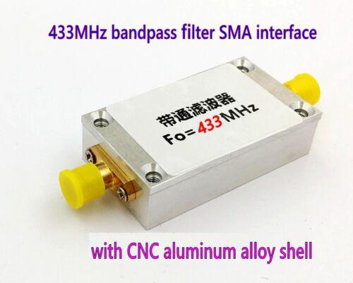 433MHz Remote Control High-definition Digital Transmission Bandpass Filter SMA