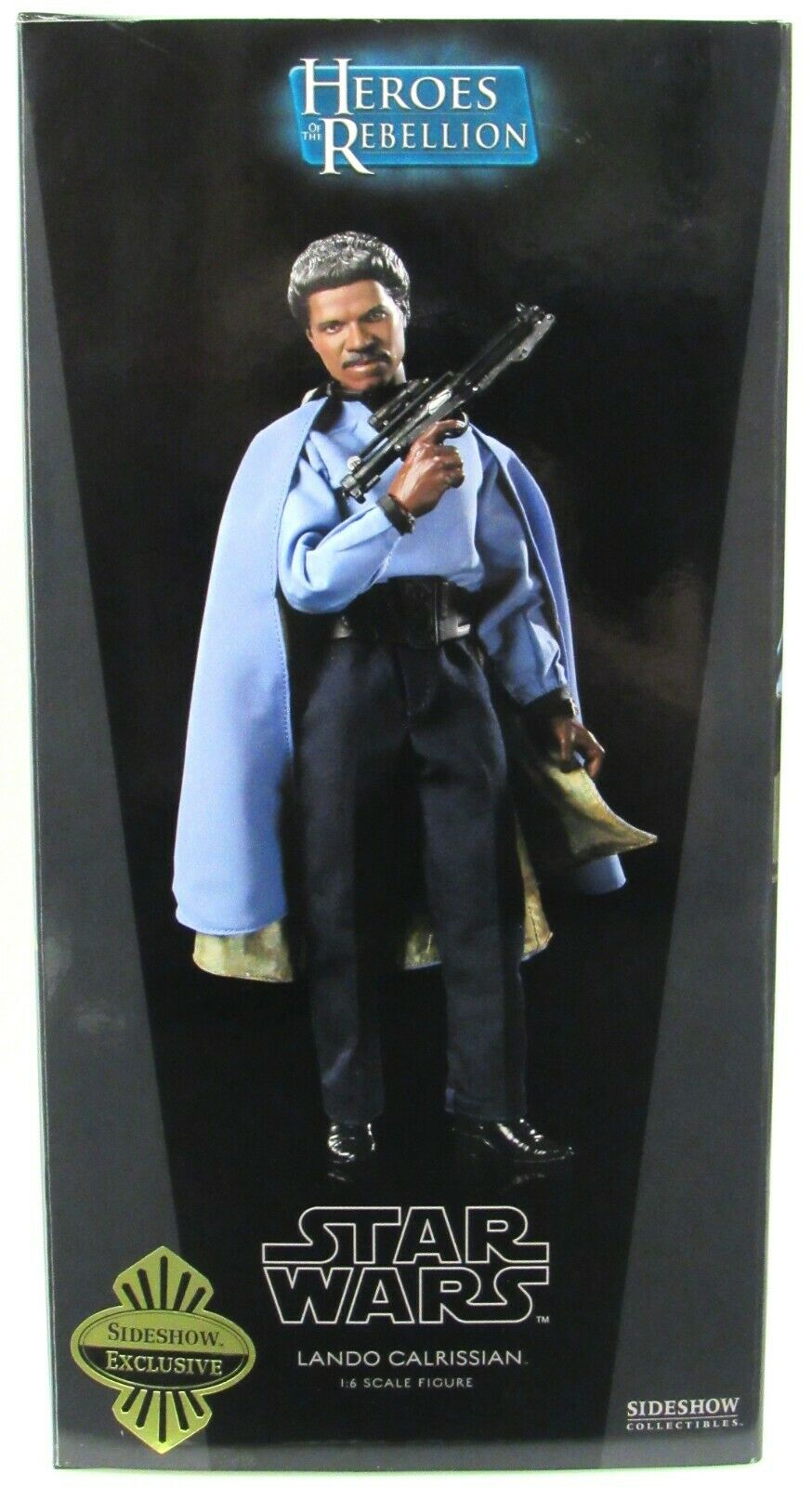 Sideshow Exclusive Star Wars 1:6 Lando Calrissian 2009 With Shipper on eBay thumbnail