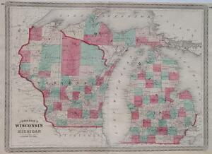 Wisconsin-Michigan-Great-Lakes-Lake-Huron-Milwaukee-Jefferson-Hillsdale-Chicago