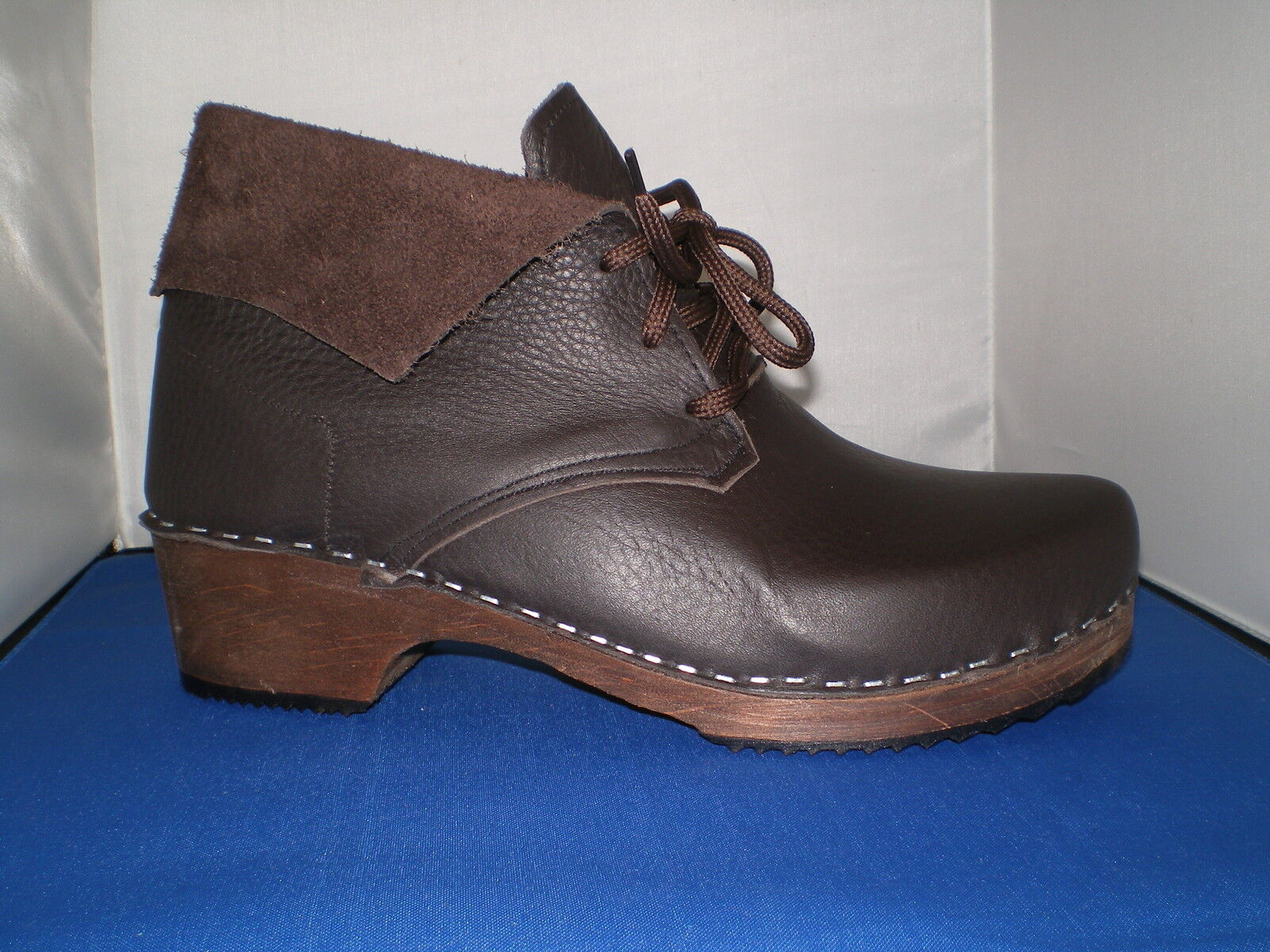 HAND in Made in Scarborough Suola In Legno Stile Svedese in HAND Pelle Intasa BOOT unisex b3976f