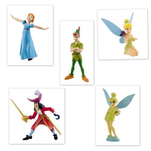 Bullyland Walt Disney Peter Pan Figur Sammelfigur Tinkerbell Kapitän Hook Wendy
