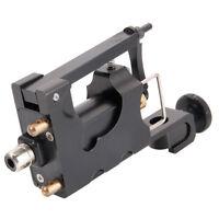 Wire-cutting Aluminum Alloy Refined Motor Rotary Tattoo Machine Gun Black