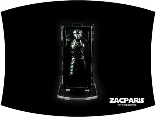 Vintage Star Wars POTF Slave 1 Han Solo Carbonite Stand for Kenner and Hasbro