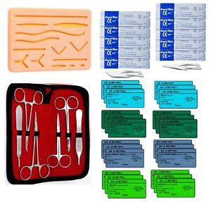 41-Stueck-ueben-Nahtmaterial-Kit-fuer-medizinische-und-veterinaermedizinische-Student-Ausbildung