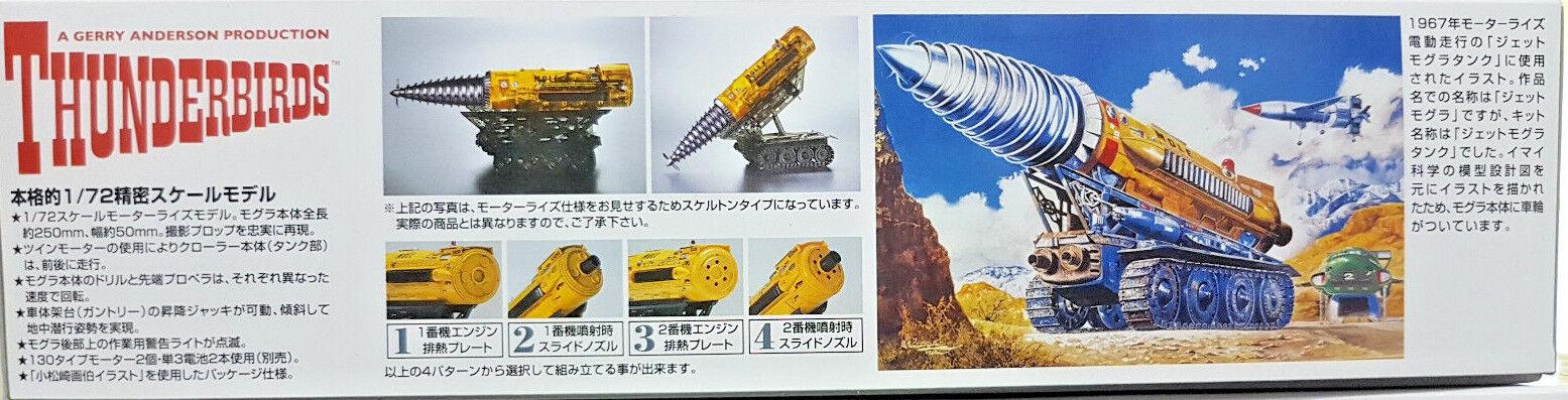 Thunderbirds The Mole  La Talpa - Scala Scala Scala 1 72 Aoshima Kit 3 b62100