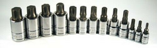 w//case 13 pc ATD Tools 13780 Ribe Bit Socket Set