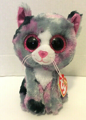 "Purple Tag ~ MINT with MINT TAGS ~ RARE Ty Beanie Boos ~ MUFFIN the 6/"" Cat"