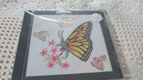 NOS Janome BUTTERFLYS Memory Embroidery EXC wTemplates Rtl 128.00