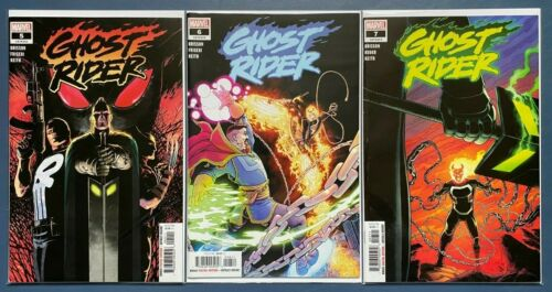 Marvel, 2020 GHOST RIDER #5-7 Single Issues *FREE SHIPPING on $25+ NM
