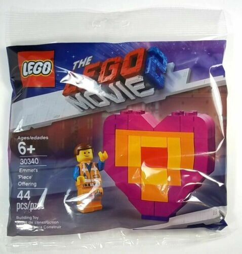 Lego Movie 2 Emmet/'s /'Piece/' Offering polypack 44pcs 30340 NEW SEALED POLYBAG
