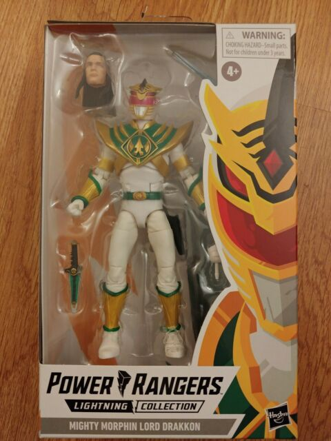 "Hasbro Lightning Collection Power Rangers 6"" Mighty Morphin Lord Drakkon"