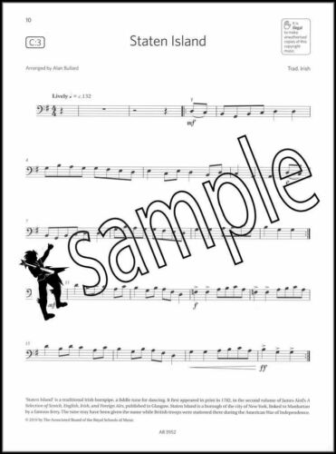 Cello Exam Pieces 2020-2023 Grade 2 Part Only ABRSM Music Test SAME DAY DISPATCH