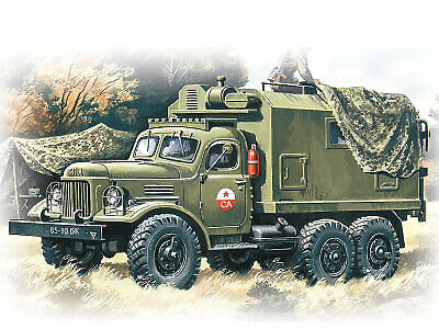 (ICM72551) - ICM 1:72 - ZiL-157, Command Vehicle