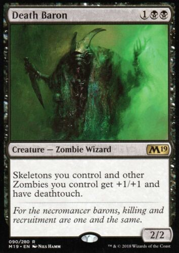 Death BaronNM//MMagic Game Night M19 Magic MTG