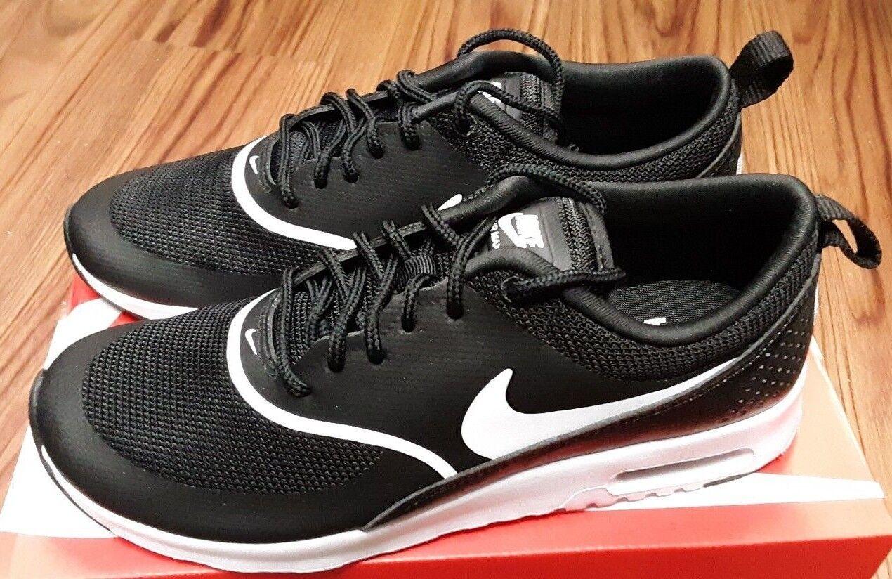 599409-028 Nike Air Max Thea Thea Thea Women's Casual shoes Black White 58e214