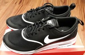 d46cb1ad929ee 599409-028 Nike Air Max Thea Women s Casual Shoes Black White