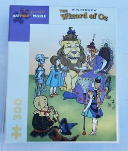Pomegranate-ARTPIECE-Jigsaw-Puzzle-The-Wizard-of-Oz-W-W-Denslow-300-Pieces