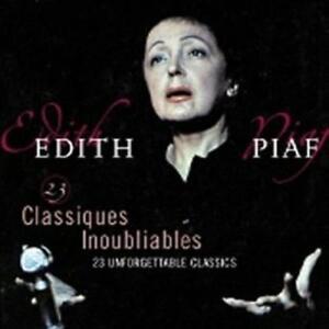 PIAF, EDITH - 23 CLASSIQUES INOUBLIABLE NEW VINYL RECORD