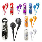 JVC HAF160 Gumy Bass Boost Stereo Headphone Earphones for iPod iPhone Android