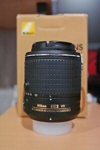 Nikon-NIKKOR-20050-55-200mm-f-4-5-6-II-DX-G-AF-S-VR-SIC-ED-Lens-No-box