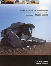 Prospekt AGCO Gleaner Conventional Rotary Combines 2002 Landmaschinen brochure