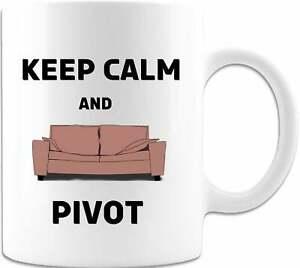 Keep Calm And Pivot White Coffee Mug Or Tea Cup Funny Work Coffee Mug Office