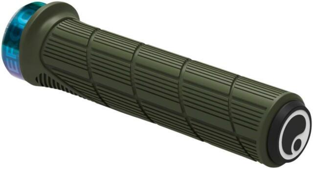 GD1 Evo Factory Lock-On Moss//Oil Slick Ergon GD1 Evo Factory Frozen Grips