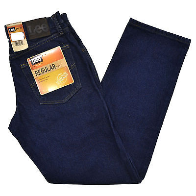 Lee Jeans Mens Regular Fit Pepperprewash Pepper Prewash Straight Leg Men