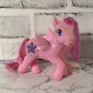 Hidden Treasure My Little Pony MLP G3 2005 Pegasus Pink Hair Tinsel Jewel